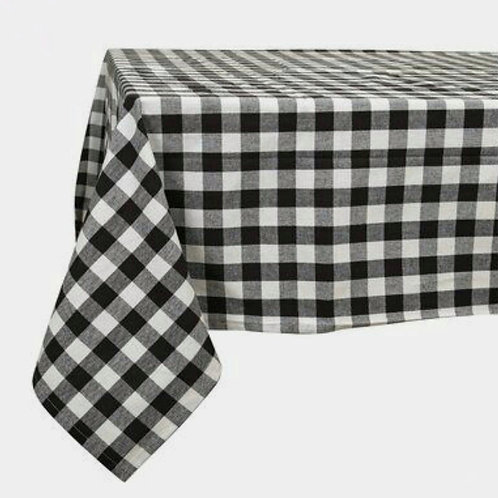 Table Cloth-Black and White