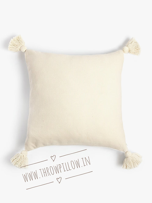 Cotton Tassel Cushion