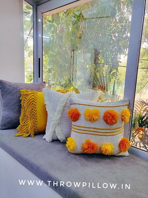 Marigold Cushion Set-  4 Cushions