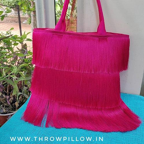 Dazzle  Fringe Tote Bag