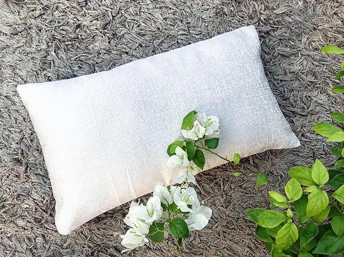 Off White Rectangular Cushion Cover