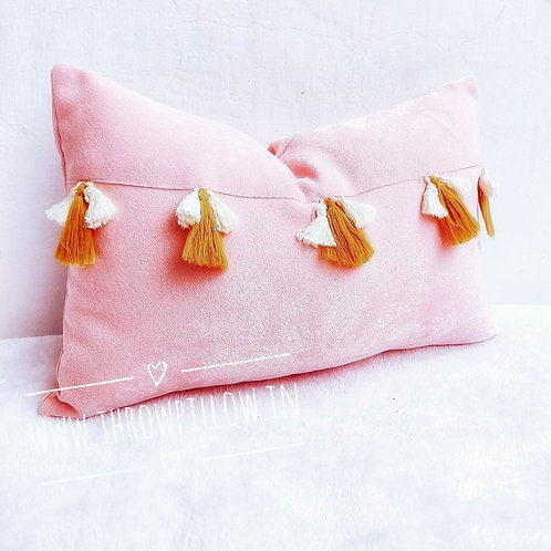 Blush Chelsa Rectangular Cushion Cover