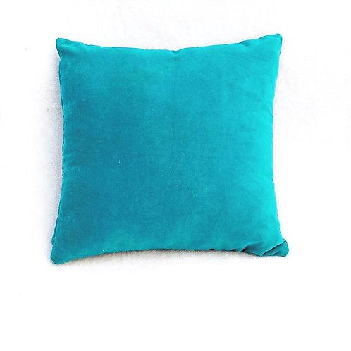 Sapphire Blue Velvet Cushion Cover