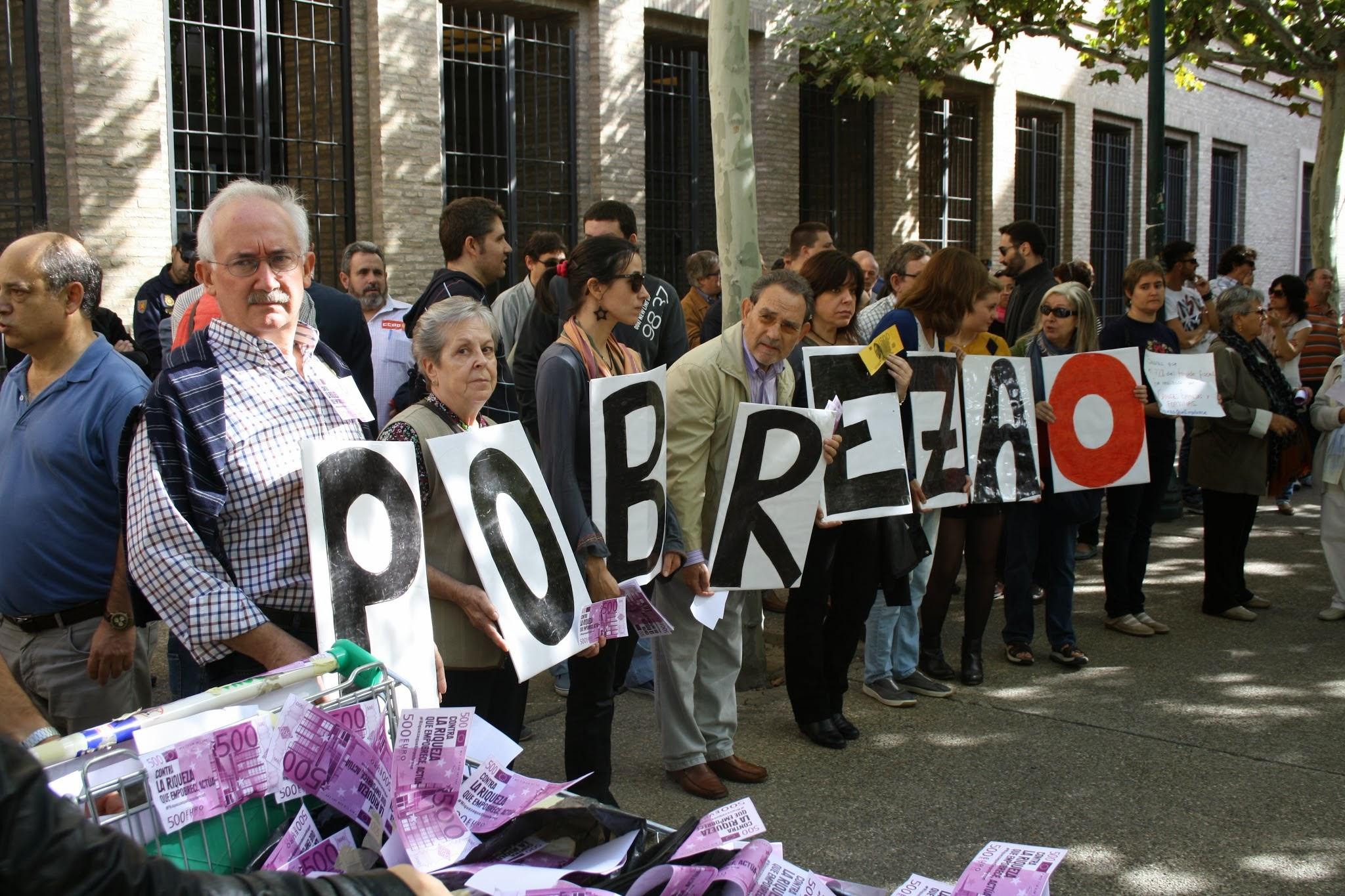 Lucha contra la pobreza 2013