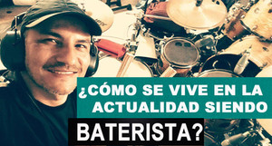 ¿Cómo se vive de ser baterista en la actualidad? por Jorge Forero