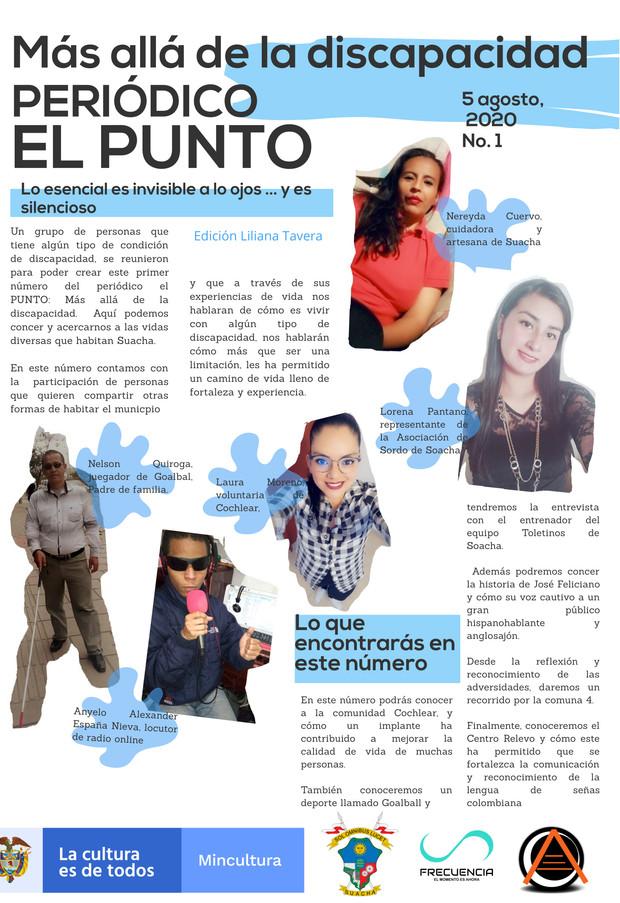 """1-Periódico """"El Punto"""" No.1"""
