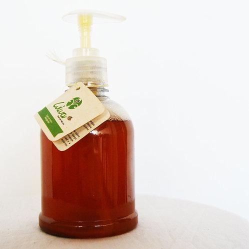 Jabón líquido hidratante: Pétalos de rosas y miel de abejas