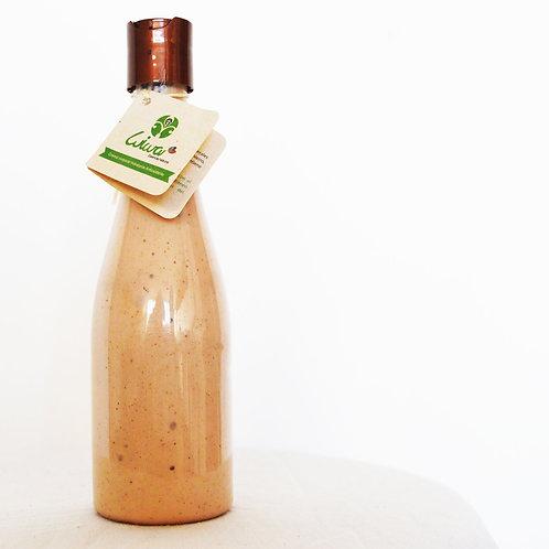 Crema corporal Hidratante Antioxidante de Cacao, aceite de coco, aloe vera