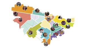 El Colectivo Ojo de Pez es uno de los procesos ganadores de Comunidades Creativas 2015
