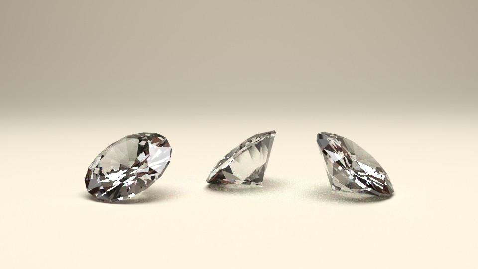 Diamonds Render Test