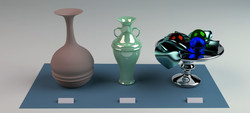 Vases Material Tests
