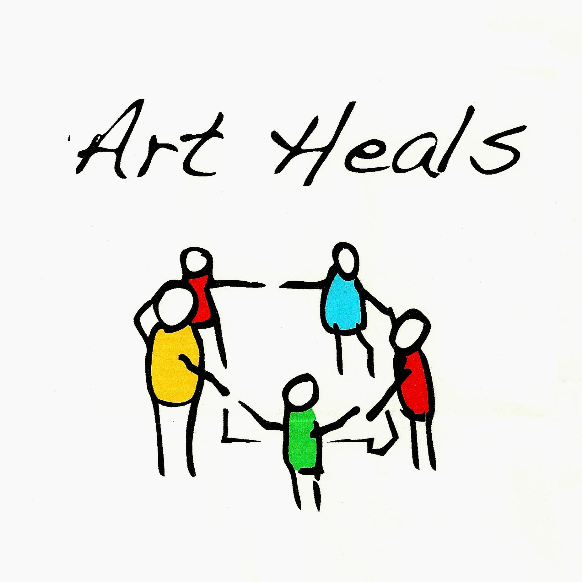 Art Heals Logo