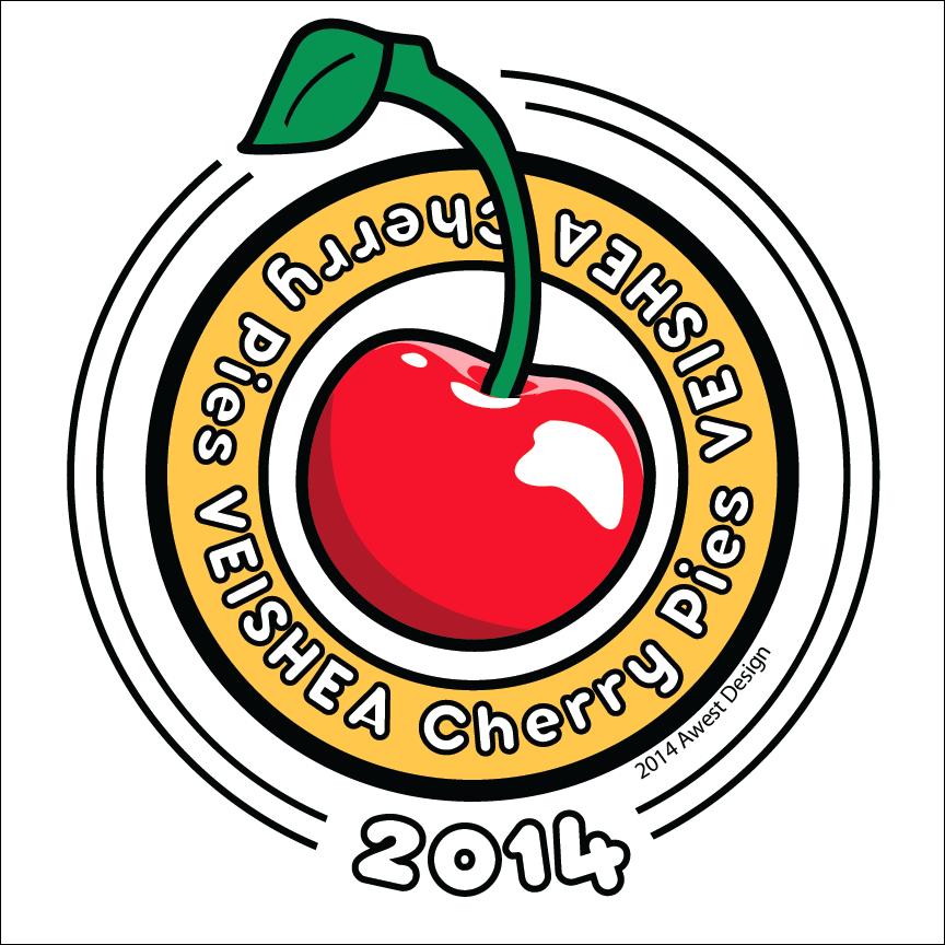 Veisha Cherry Pie Logo