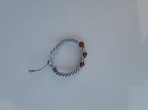 small bracelet imitacion jewerly grey
