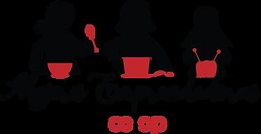 Mujeres Co-op Regular Logo Black Transpa