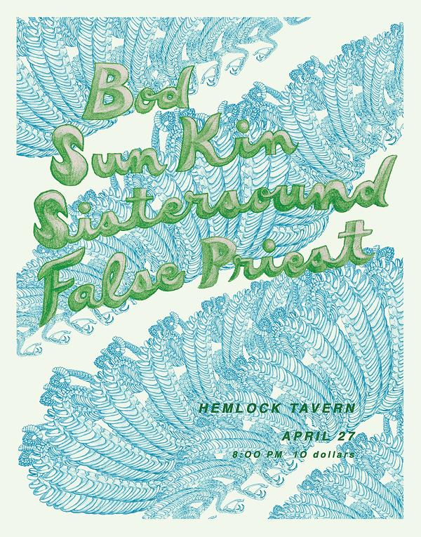 Katie Levitt concert poster