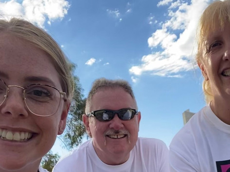 Another lovely day to walk around the lake for Gift of Life DonateLife Walk 2021