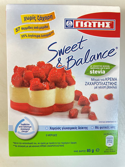 Jotis Sweet&Balance Cream Patisserie Vanilla - 85gr