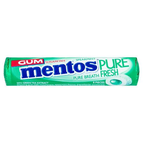 Mentos Gum Spearmint - 16gr