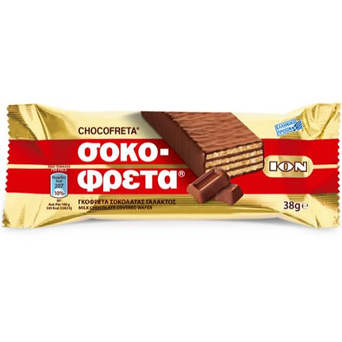 ION Wafer Milk chocolate - 38gr