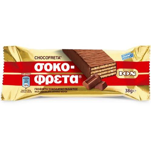 ION Wafer / Chocofreta Milk chocolate - 38gr
