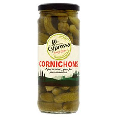 Cypressa Cornichons in vinegar - 450gr