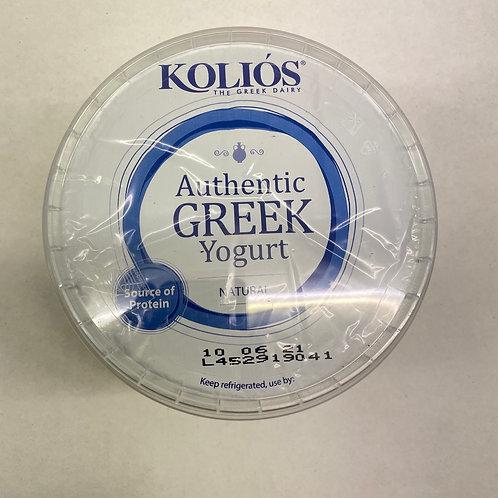 Kolios Greek Strained Yogurt 10% - 1kg