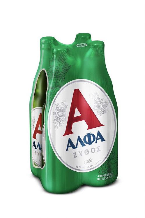 Alfa Greek Beer 4x500ml