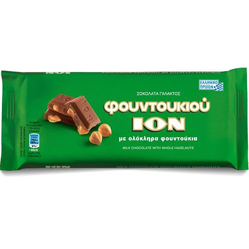 ION Milk Chocolate with hazelnuts - 100gr