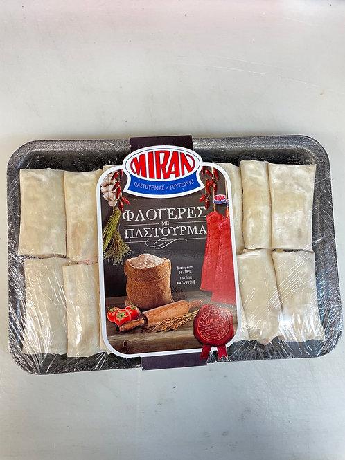 Miran mini pastries with Beef Pastourma