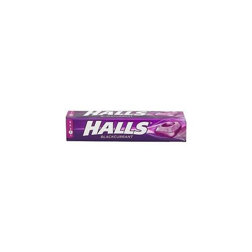 Halls Menthol Blackcurrant - Pack