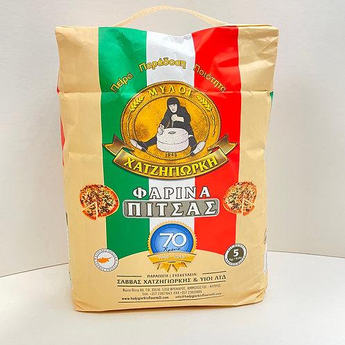 HadjiGiorkis Pizza Flour - 5kg