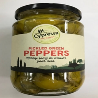 Cypressa Pickled Green Peppers - 670gr