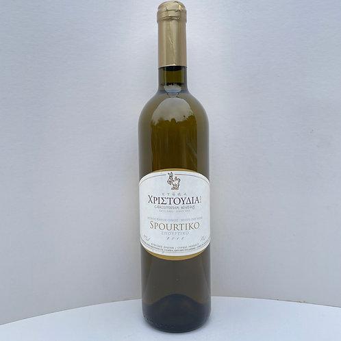 Ktima Christoudia Spourtiko White Wine