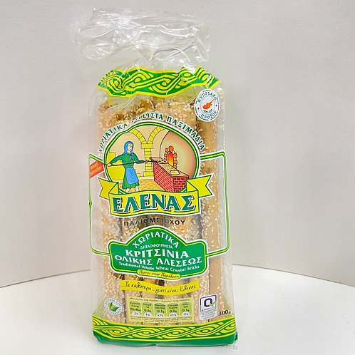 Elena Whole wheat Grissini sticks - 300gr