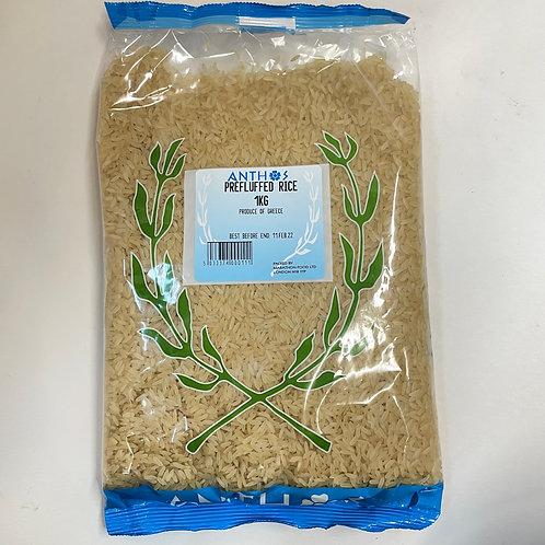 Anthos Prefluffed Rice - 1kg