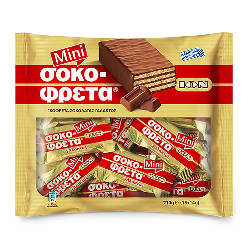 ION Mini wafers Milk choco - 210gr
