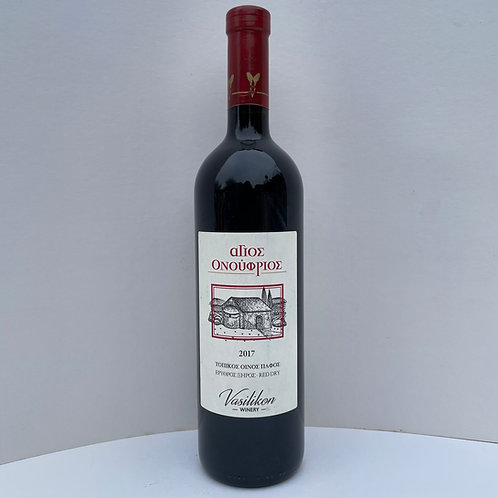 Agios Onoufrios Red Dry Wine