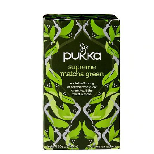 Pukka Supreme Matcha Green - Pack-20