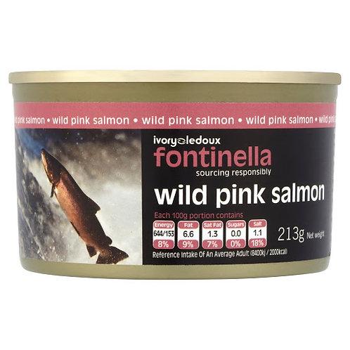 Fontinella Wild Pink Salmon - 213gr