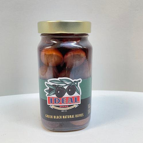 Ideal Black Olives Extra Jumbo - 560gr