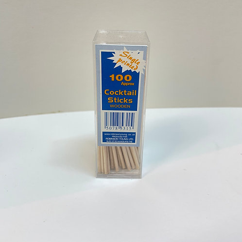 Coctail sticks wooden