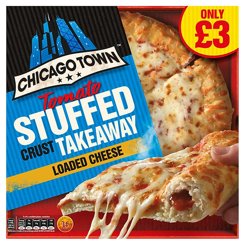 Chicago Town T/Away Stuffed Crust Cheese Pizza 480gr