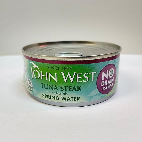 John West Tuna Steak Spring water ND - 110gr