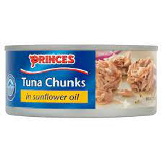 Princes Tuna Chunks in Sunflower Oil - 145gr
