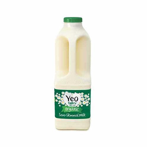 Yeo Valley Organic  Milk Green - 1L