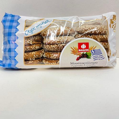 Fedon Cookies Grape must raisin-sesame - 400gr