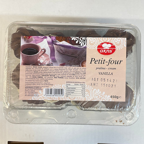 Akis Pti Four Praline Cream Vanilla- 450gr