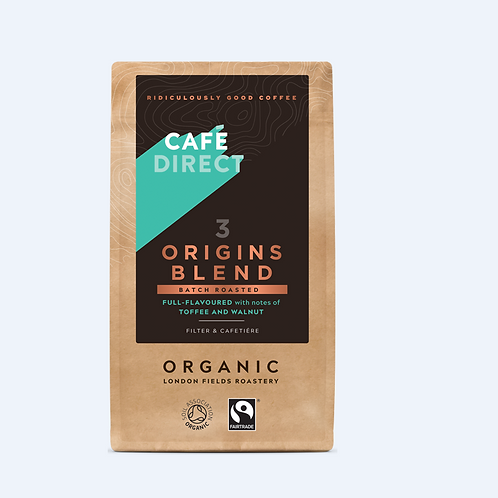 Cafe Direct 3 Origins Blend - 227gr