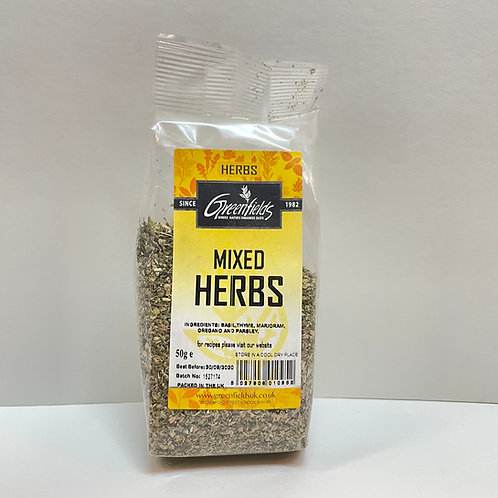 Green Fields Mixed Herbs - 50gr